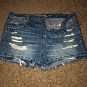 Tomgirl jean shorts
